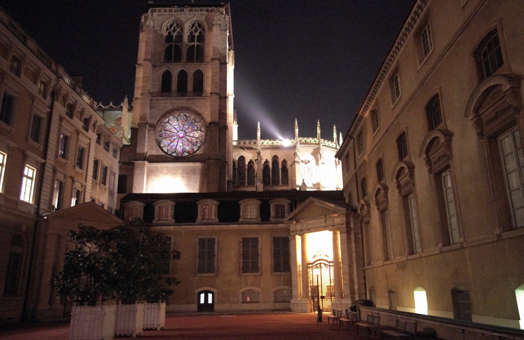 Vieux Lyon by Night France Holiday Sharing