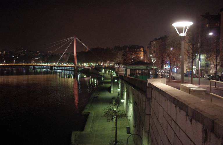 Photo Vieux Lyon by Night