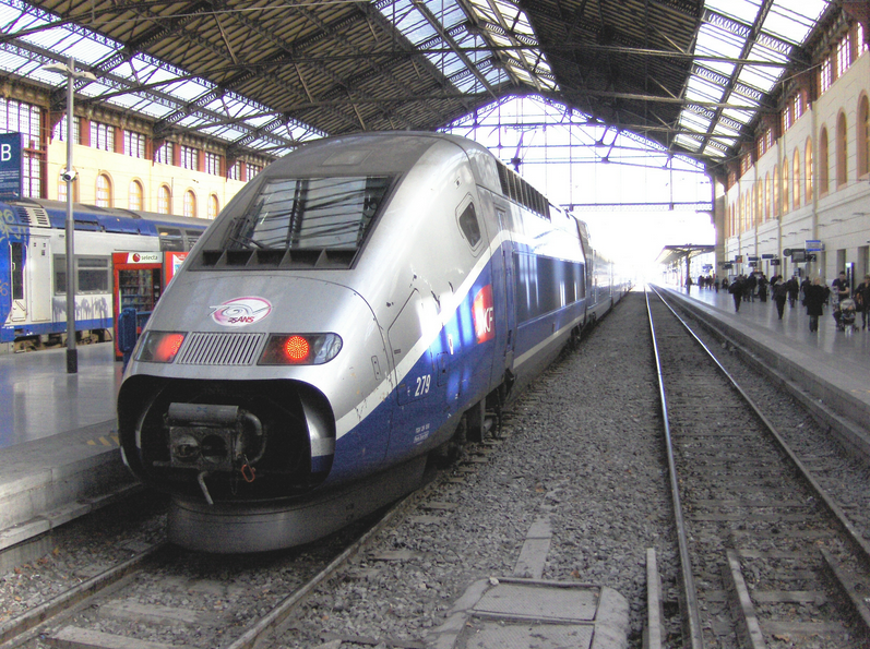 Photo To Marseille by Train