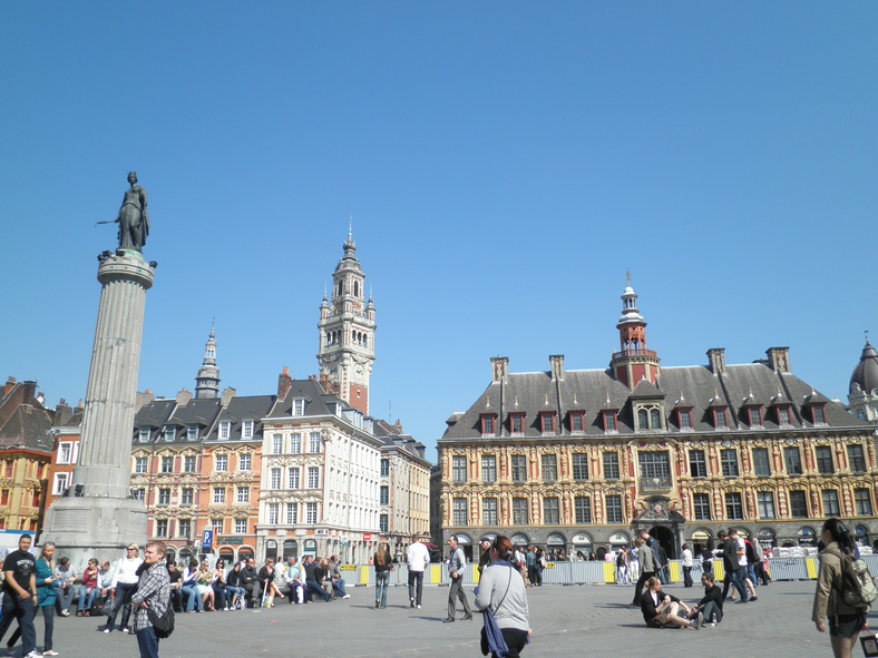 The Center of Lille France Album Photos