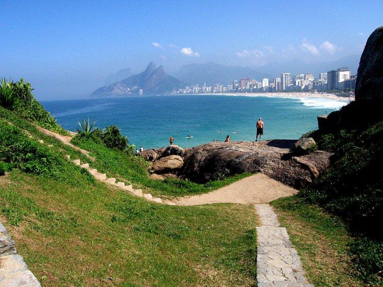 Rio de Janeiro Brazil Arpoador - Ipanema