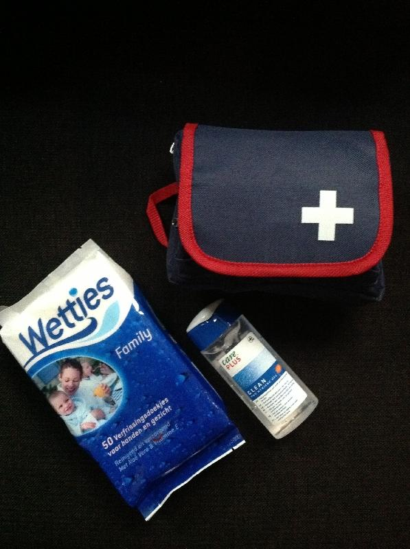 First Aid kit,wipes,hand sanitizer, Tanzania
