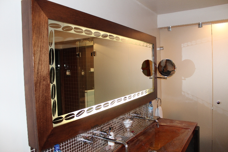 Mirror and resin basin, Tanzania