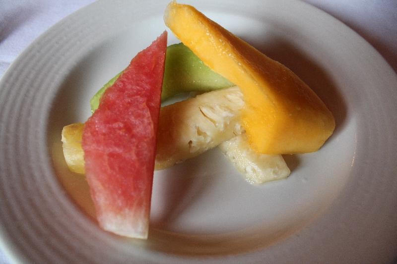 Fresh fruit platter Arusha, Tanzania