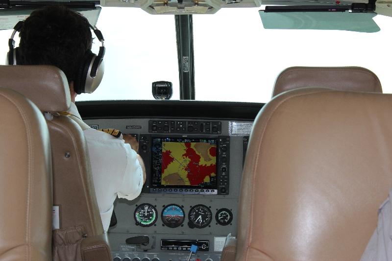 Our pilot from Arusha to Kuro, Tanzania