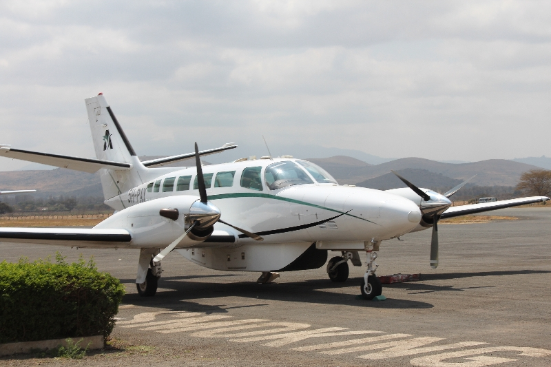 Arusha Airport for the Elewana Skysafari, Tanzania