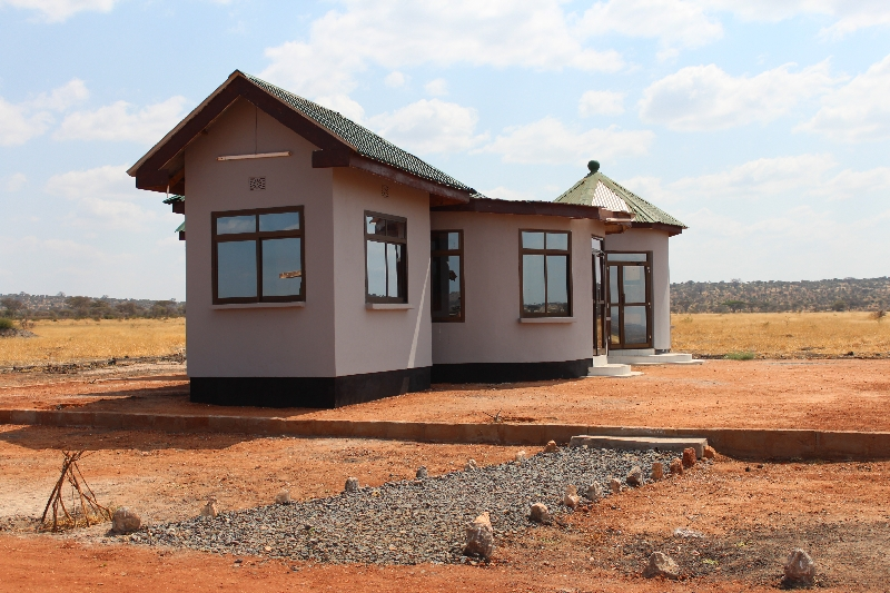Kuro Airport Toilets, Tanzania