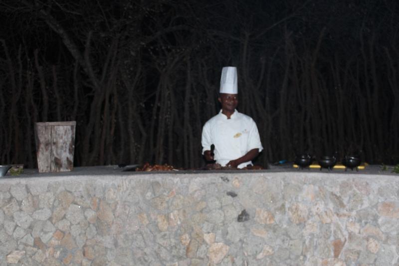Staff at Tarangire Treetops, Manyara Tanzania