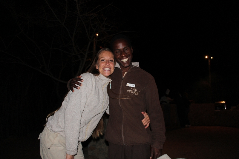 Our waiter Nicholas was perfect , Manyara Tanzania
