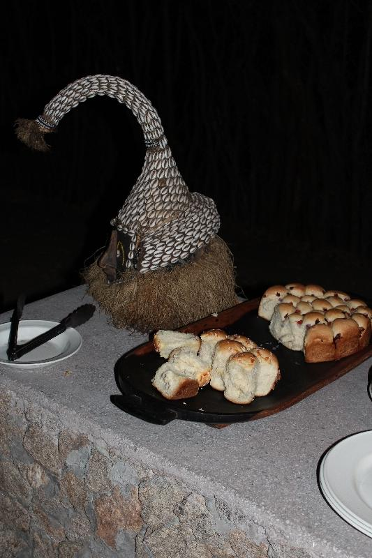 Home made bread Treetops, Tanzania