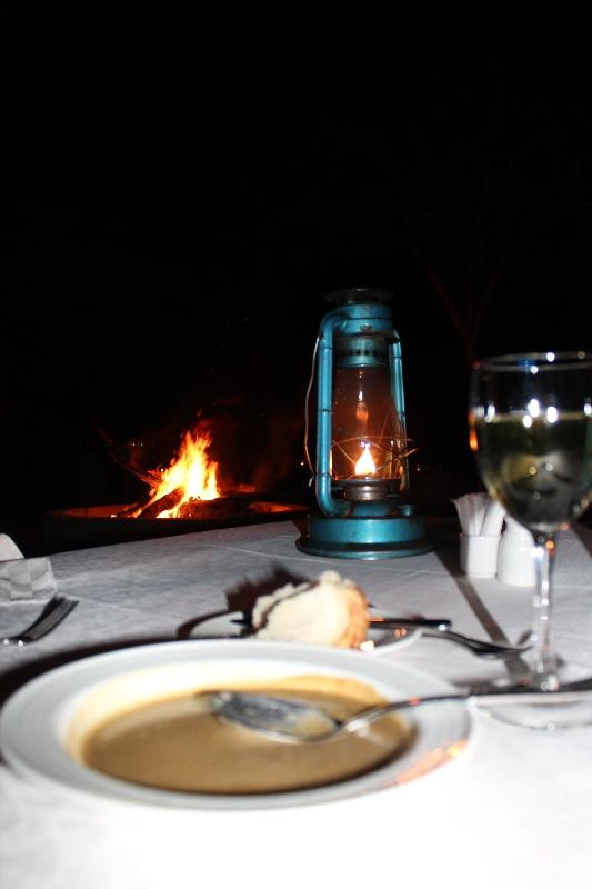 Romantic dinner at Tarangire National Park, Tanzania