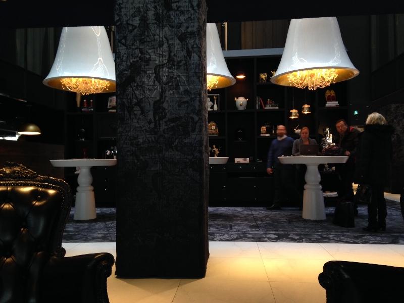 Reception Andaz Hotel Amsterdam, Amsterdam Netherlands