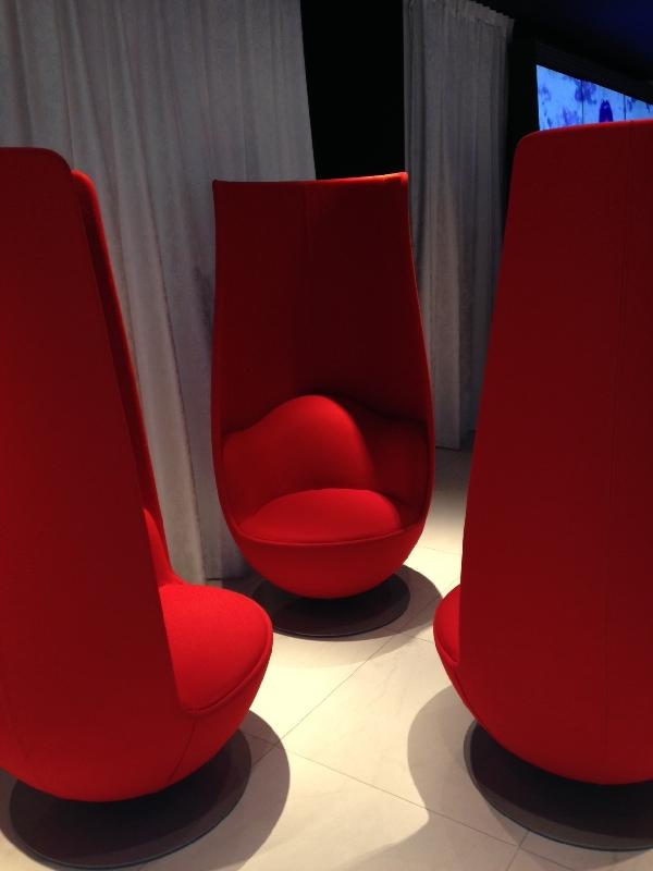 Andaz Hotel Lounge Area, Amsterdam Netherlands