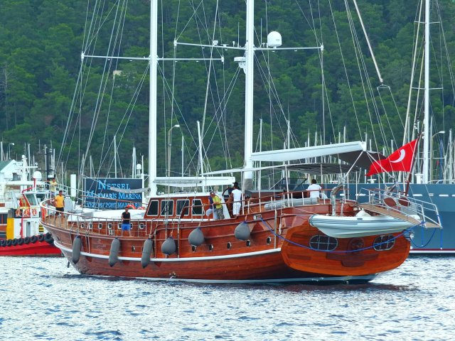 Marmaris Turkey Gulet Mehmet Bugra  