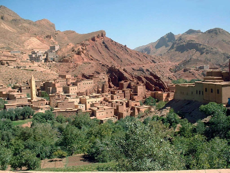 4 Days & 3 Nights Desert Tour From Fez Tangier Morocco Travel Package