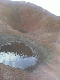 Water Pools on Uluru