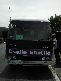 Cradle Mountain shuttle