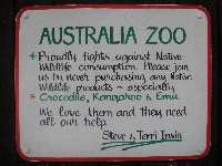 The Australia Zoo in Beerwah