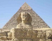 The Sphinx of Giza near Cairo