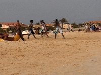 Capoeira pictures in Cape Verde