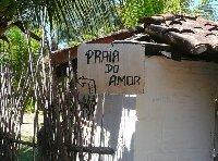 Praia do Amor in Brazil