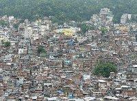 The Favelas in Rio de Janeiro, Brazil