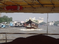 Looking out on the Bangkok River