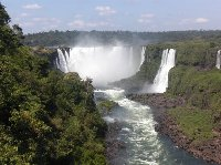 Amazing falls at Puerto Iguazu