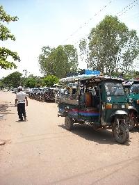 Tuk Tuk in Vientiane, Laos