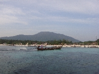 Pattaya Beach upon arrival
