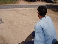 Elephant rider in Kanchanaburi