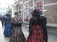 Actors during Charles Dickens Festival