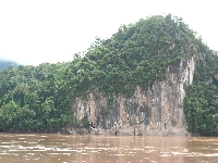 The caves on the Mekong River