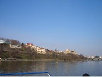Pictures of the Vltava River in Prague