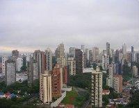 The city of Sao Paulo, Brasil