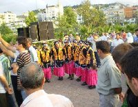Armenian girls permorming a dance