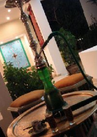 The Tunisian narghile waterpipe