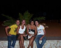 Night out in San Vito lo Capo.