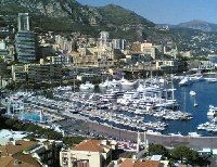 Panoramic photo of Montecarlo.
