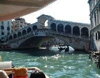 Gondola trip through the canals of Venice.