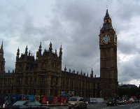 Photo of the Big Ben in London.