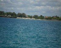 The coast of Kenya.