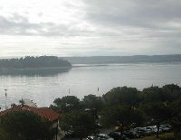 Panoramic photos of Portoroz in