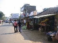 Fruit markets in Mahabalipuram, India
