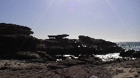 Hike to Mushroom Rock in Kalbarri