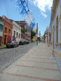 The carnival streets of Olinda, Brazil