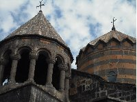 Pictures of the Katoghike Church in Yerevan