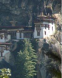 Tiger's Nest monastery of Taktsang Dzong, Bhutan