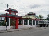 Chinese temple in Dili, Timor Leste