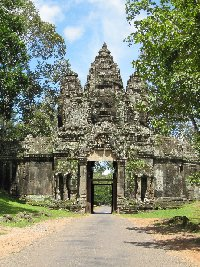 Angkor Wat Cambodia Siem Reap Travel Picture